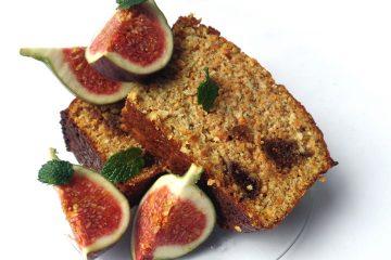 עוגת פירות עם קמח מלא {מתאימה לסוכרתיים}